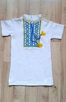Вышиванка с коротким рукавом для мальчика