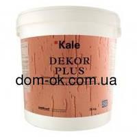 Kale DEKOR PLUS силиконовая штукатурка короед 3 мм