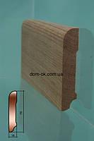Плинтус деревянный ТИП 7 Дуб Высший сорт