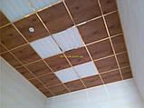 Потолочная плита под дерево 600х600 Ольха светлая, фото 3