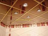 Потолочная плита под дерево 600х600 Ольха светлая, фото 8