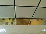 Алюминиевые потолочные плиты - Золото, супер золото Золото 600х600, фото 8