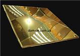 Алюминиевые потолочные плиты - Золото, супер золото Золото 600х600, фото 9