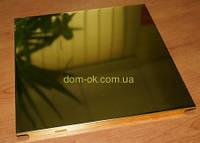 Алюминиевые потолочные плиты - Золото, супер золото Золото 300х300