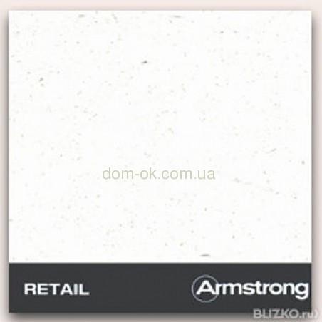 Плита Армстронг Ритейл/Retail, кромка и толщина на выбор Tegular 600х600