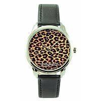 Женские наручные часы Леопард чёрные
