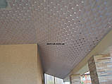 Плита подвесного потолка типа Баони из алюминия № А-12, фото 3