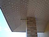 Плита подвесного потолка типа Баони из алюминия № А-12, фото 4