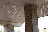Плита подвесного потолка типа Баони из алюминия № А-12, фото 5