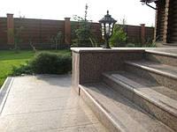 Монтаж гранита в Днепропетровске, фото 1