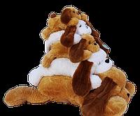Собака Тузик коричневый - 100 см
