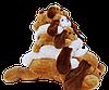 Собака Тузик розовый 150 см