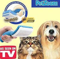 Фурминатор для собак и кошек Petzoom Self Cleaning, фото 1