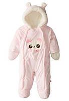 Комбинезон  для девочки Wippette (США) розовый для новорожденной