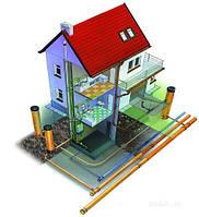 Проектирование отопления жилого дома, коттеджа