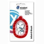 Зубна щітка для малят Infant-O-Brash Miradent (червона)