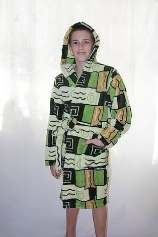 Халат махровый подростковый для мальчиков, фото 2