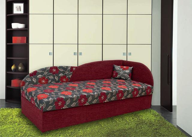 Кровать Дези 190х80 см. в интерьере
