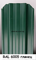 Металлический забор Жалюзи из глянцевого металла RAL 6005