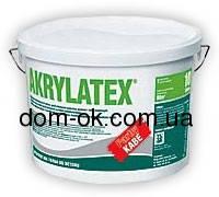 Akrilatex - краска  Akrilatex - дисперсионная, акриловая краска для покраски бетонных элементов и цоколей