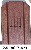 Металлический забор Жалюзи из матового металла RAL 8017