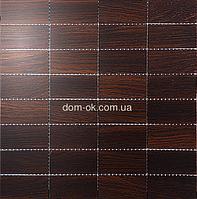 Мозаика 8х4 размеры 0,288х0,288м Дуб Thermo Wood, фото 1