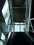 Реечный подвесной потолок, черныйRAL 9005, фото 3