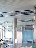 Реечный подвесной потолок, черныйRAL 9005, фото 5