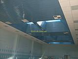 Реечный подвесной потолок, золото-зеркало С-2, фото 5