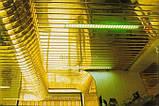 Реечный подвесной потолок, золото-зеркало С-2, фото 6