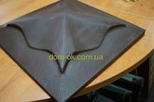 Крышки для столбиков под клинкер  из бетонна - под цвет * 450х450