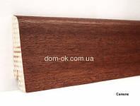 Плинтус Ключук шпонированный Сапеле натуральный высотой 60 и 80мм 60х18мм.