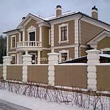 Фасадный карниз из пенопласта с покрытием КР-007, фото 2