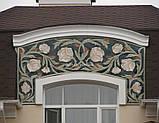 Фасадный карниз из пенопласта с покрытием КР-007, фото 5