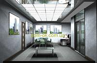 Акриловые плиты Сатин-светопропускаемость 67% Акриловые плиты подвесного потолка
