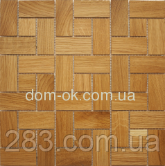 Мозаика деревянная Ritmo 0,324х0,324м  Ritmo Дуб натуральный