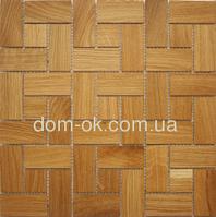 Мозаика деревянная Ritmo 0,324х0,324м  Ritmo Дуб натуральный, фото 1
