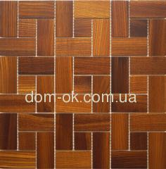 Мозаика деревянная Ritmo 0,324х0,324м Ritmo Ясень Thermo