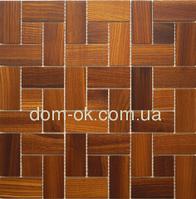 Мозаика деревянная Ritmo 0,324х0,324м Ritmo Ясень Thermo, фото 1