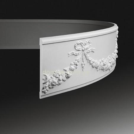 Полиуретановый молдинг Европласт 1.51.380 ППУ гибкий