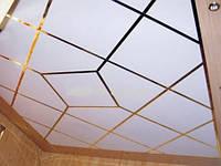 Монтаж подвесного потолка Армстронг плиты пластиковые, м.кв