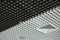 Монтаж подвесного потолка Армстронг грильято, м.кв.