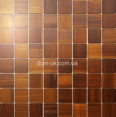 Мозаика 8х8 под заказ 0,288х0,288м Ясень Thermo Wood