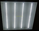 Светильник  LED-600х600 PRISMATIC , 36W 6500K 2300Lm Теплый свет 4100К, фото 4