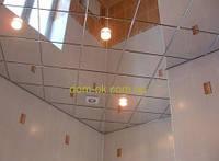 Зеркальный подвесной потолок в комплекте панели 300х300 AL