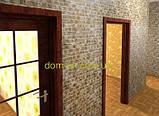 ПВХ панель Регул Мозаика Малахит золото  - 101- З, фото 5