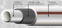 Труба ПП  40 PN 20 EKOPLASTIK FIBER BASALT PLUS  базальтовый слой