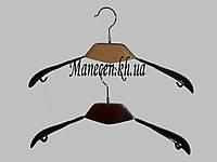 Вешалка модельная с деревянной вставкой