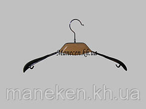 Вешалка модельная с деревянной вставкой, фото 2