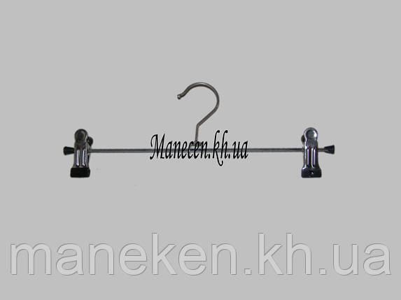 Вешалка брючная  К-4 30см. с металлической прищепкой, фото 2